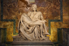 One of Michelangelo's most famous works Stock Image