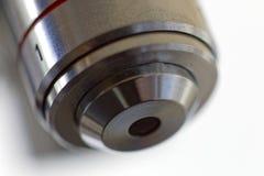 One microscope lens Stock Image