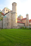 One millenium old. A Romanesque basilica that looks like a fortress (from the outside Royalty Free Stock Images