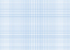 One millimeter graph paper cyan color on a4 size horizontal sheet Stock Photo