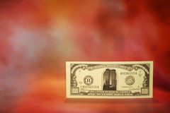 One million Dollars. One million dollar note with space alloted for text Stock Photos