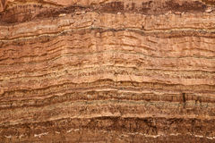 One Million Years Of Sandstone Stock Image