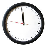One Minute to 12 oclock Stock Photography