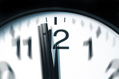 One Minute to 12 oclock Royalty Free Stock Photography