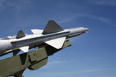 One missile Royalty Free Stock Photography