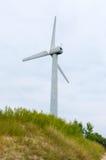 One modern windmil Stock Photo