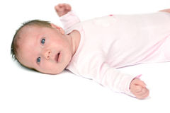 One month baby Stock Photo