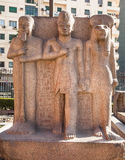 One of the monuments at the Egyptian Museum Royalty Free Stock Photos