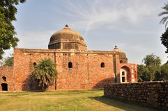One of monuments of Humayun Tomb, India. Stock Image