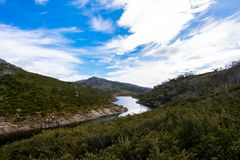 One of the more memorable sights from the Kosciuszko national park royalty free stock photography