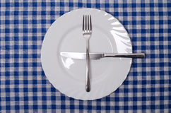 One more please - table manners Stock Photos