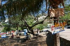 Taganga beach, santa marta royalty free stock photography
