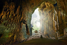 One of the most beautiful caves of Borneo Gomantong.Malaysia Royalty Free Stock Image