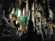 One of the most beautiful caves in the world royalty free stock image