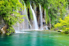 One of the most beautiful places in the world Plitvice - Croatia Royalty Free Stock Photography