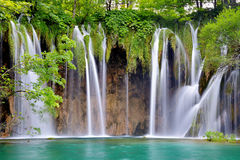 One of the most beautiful places in the world Plitvice - Croatia Stock Photo