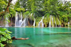 One of the most beautiful places in the world Plitvice - Croatia Royalty Free Stock Images