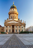 One of the most beautiful squares in Berlin, the Gendarmenmarkt, Royalty Free Stock Photos