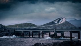 Atlantic Road, Norway stock photos