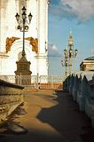 Part of Christ the Savior Cathedral outdoor view, Moscow, Russia stock photos
