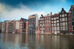 One of the most famous European city of Amsterdam. The capital o Stock Images