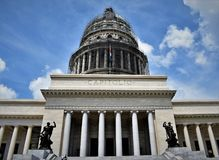 The Capitol building - Havana royalty free stock photo