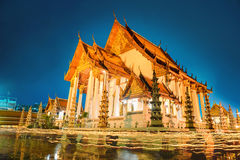 One of the most important temple of Thailand Royalty Free Stock Photos