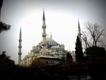 The Blue Mosque in Istanbul royalty free stock photography