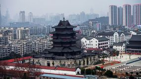 Guiyuan Temple Complex, Wuhan City, Hanyang District royalty free stock image