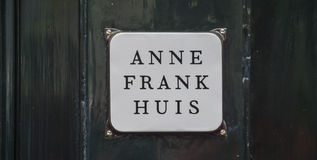 One of the most popular attractions in Amsterdam - the Anne Frank House and museum - AMSTERDAM - THE NETHERLANDS - JULY. One of the most popular attractions in stock photography