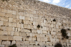 The Wailing Wall Royalty Free Stock Photo