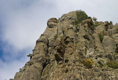 One of the mountain peaks of the southern Demerdzhi Royalty Free Stock Photography