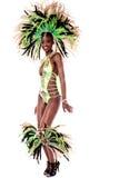 One of my best samba costume. Royalty Free Stock Images