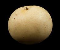 One nashi pear fruit Royalty Free Stock Photo