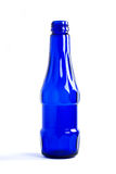 One navy blue soda Bottle Royalty Free Stock Photos