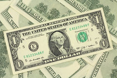 One new American dollar Stock Photo