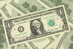 One new American dollar Stock Photo