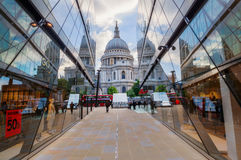 One New Change near St Pauls Cathedral in London, UK Stock Photos