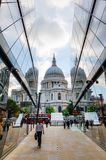 One New Change near St Pauls Cathedral in London, UK Stock Image