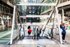 One New Change shopping mall in London, UK Royalty Free Stock Photos