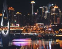 One night in Chongqing Royalty Free Stock Images