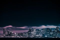 One Night in San Francisco Stock Photos