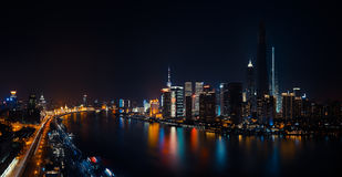 One Night in Shanghai Royalty Free Stock Photo