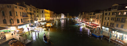 One Night in Venice Royalty Free Stock Image