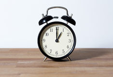 It is one o`clock. Royalty Free Stock Photos