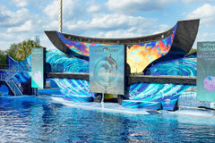 One Ocean, SeaWorld Orlando Orca Stadium Royalty Free Stock Images