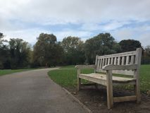 Free One Of Benches In East Park In Hull, Great Britain Stock Photos - 129082523
