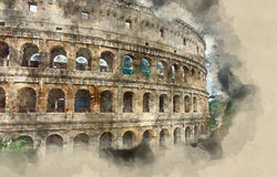 Free One Of The Most Important Landmarks In Rome - The Colosseum - Colisseo Di Roma Stock Image - 98921071