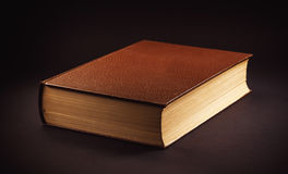 One Old Brown Book Royalty Free Stock Photos