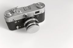 One old camera of monochrome tone Royalty Free Stock Image